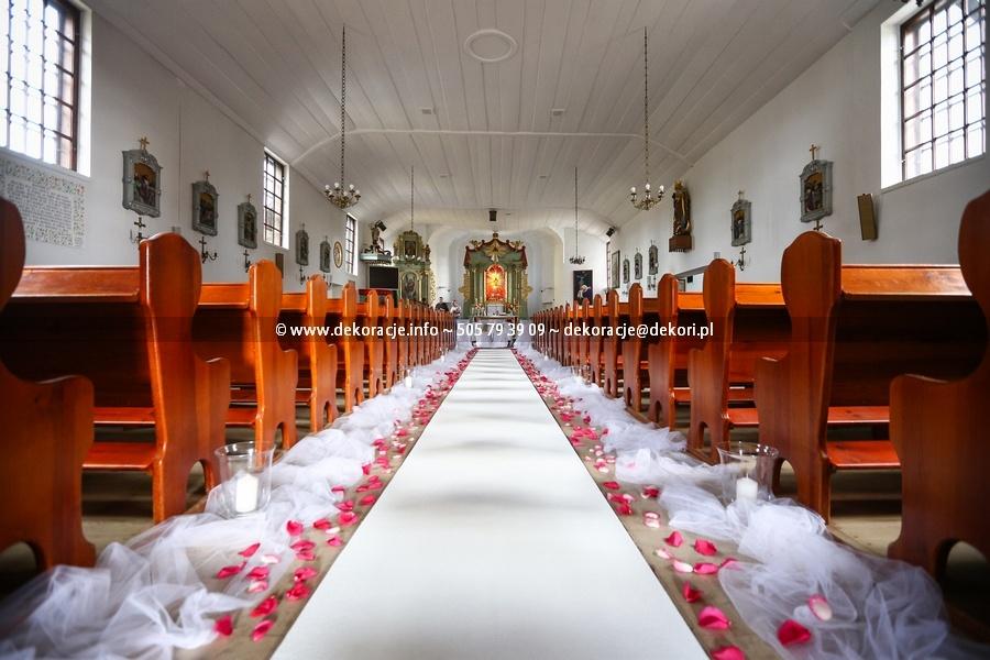 dekoracja parafii NMO w Sianowie