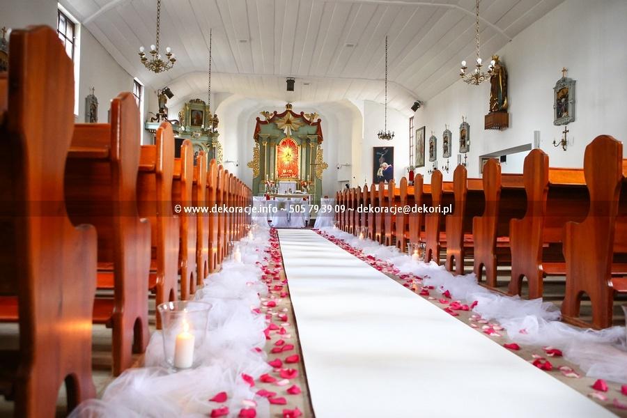 dekoracje ślubne Chmielno