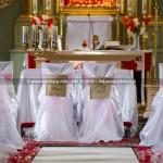 Kościół Narodzenia NMP w Sianowie ~ Dekoracja Ślubna Kościoła na Kaszubach