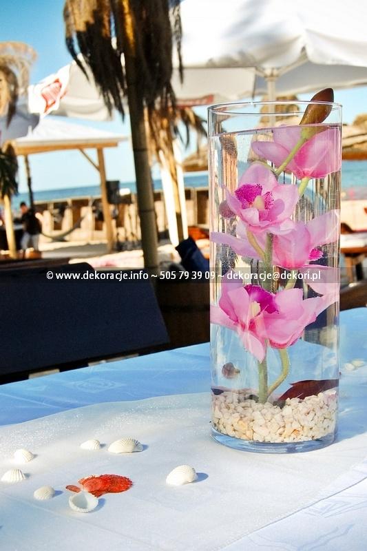dekoracje ślubu w plenerze Gdynia