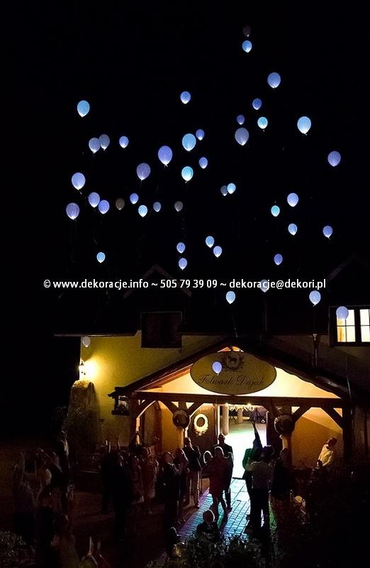 balony ledowe z helem Gdynia