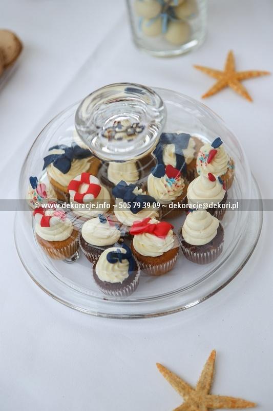 candy bar naczynia dekoracyjne