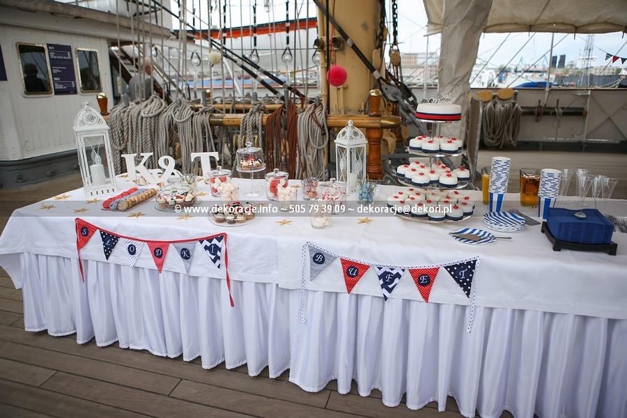 dekoracja stołu z ciastami Gdynia