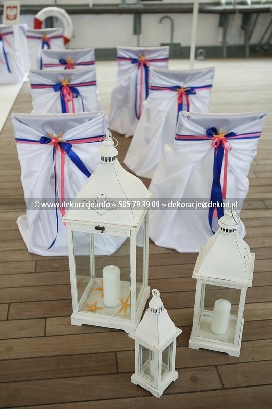 dekoracje ślubne w plenerze Gdynia