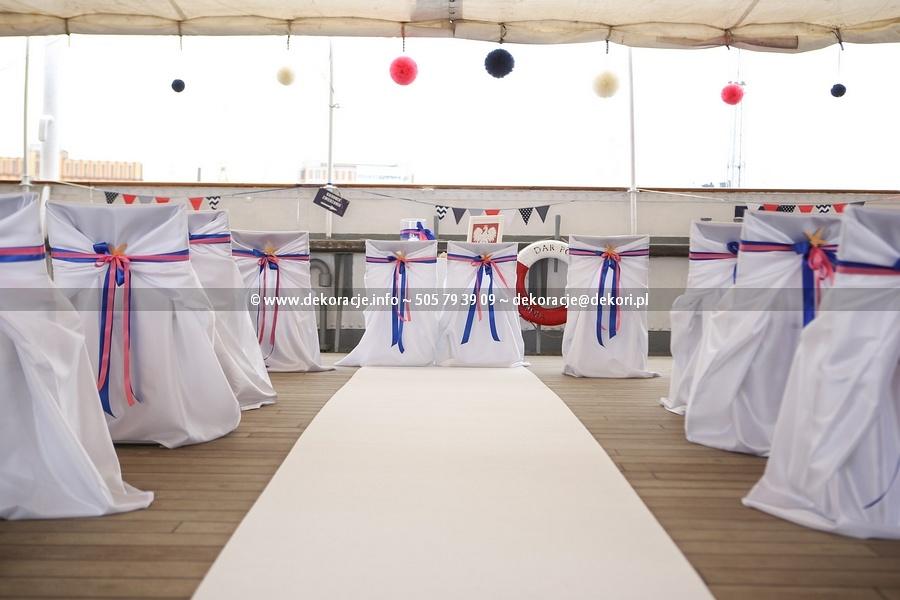 Ślub na Darze Pomorza w Gdyni