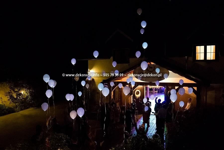 swiecące balony Gdańsk