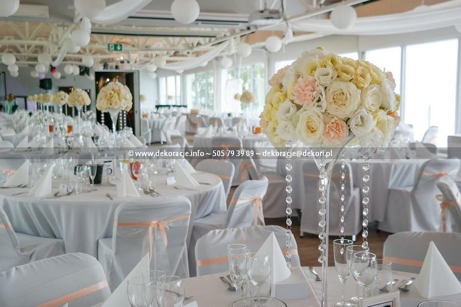 dekoracja sali na wesele Sopot