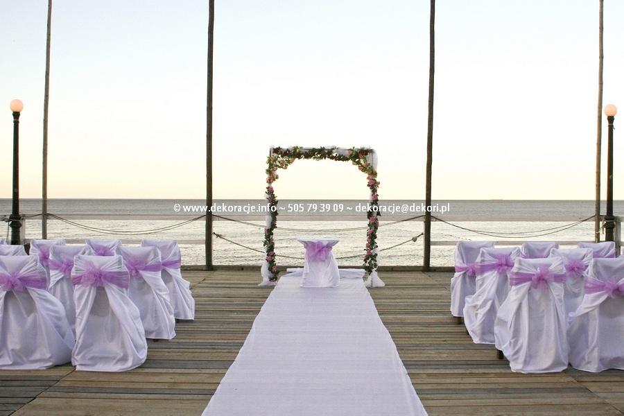 ślub na plaży sopot
