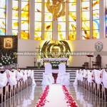 Dekoracja Ślubna Kościoła w Gdyni ~ Kościół Matki Bożej Nieustającej Pomocy i Świętego Piotra Rybaka Gdynia