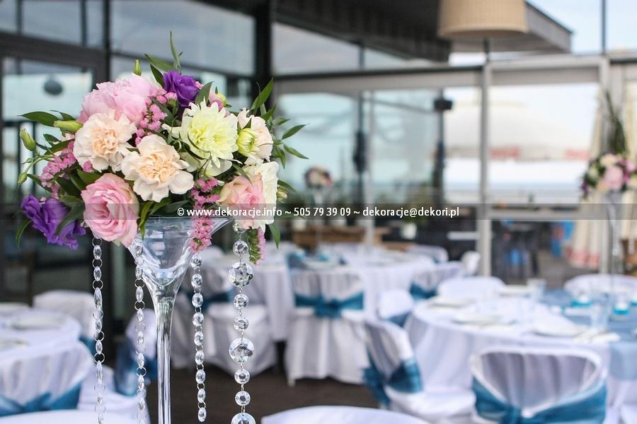 dekoracja ślubna vinegre w Gdyni