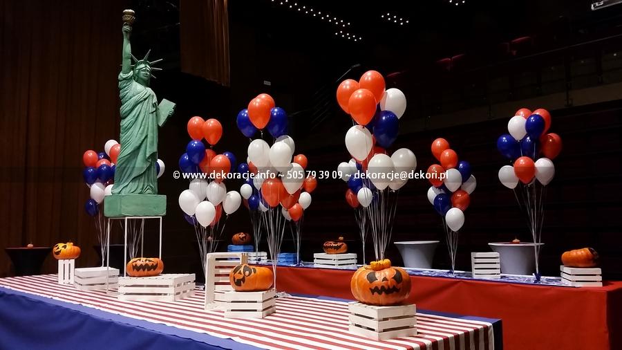 dekoracja z balonów imprez firmowych gdańsk