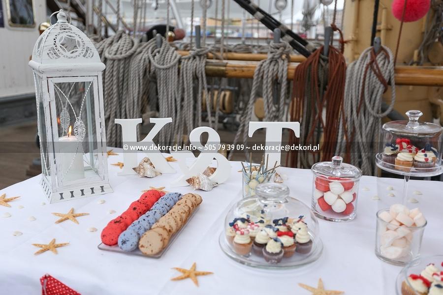 słodki bufet morski Gdynia