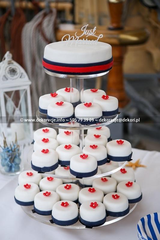słodki bufet na ślubie gdynia
