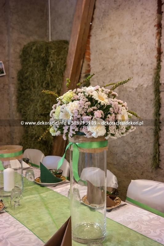 Dekoracje śluben sali Vintage Gdynia
