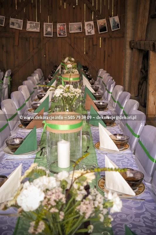 dekoracje ślubne Vinta Gdańsk