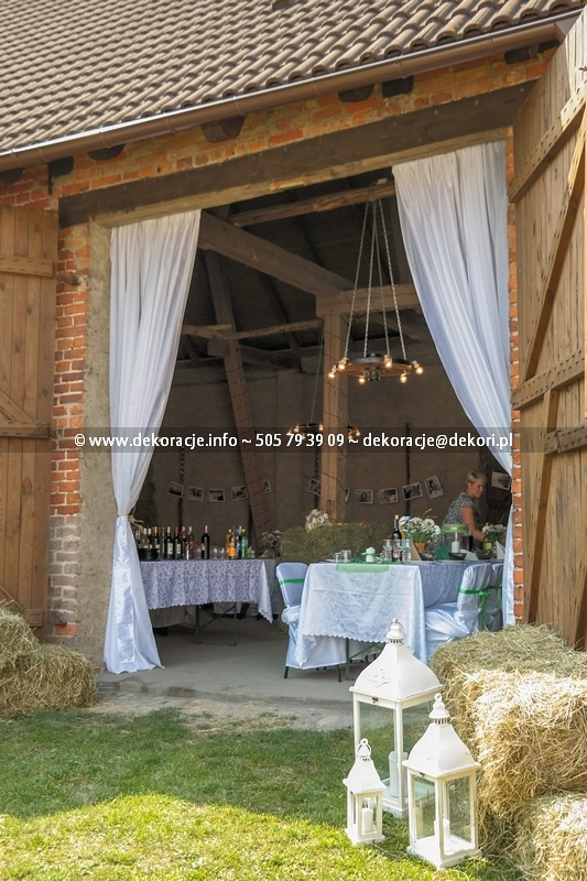 dekoracje ślubne vintage latarnie sopot