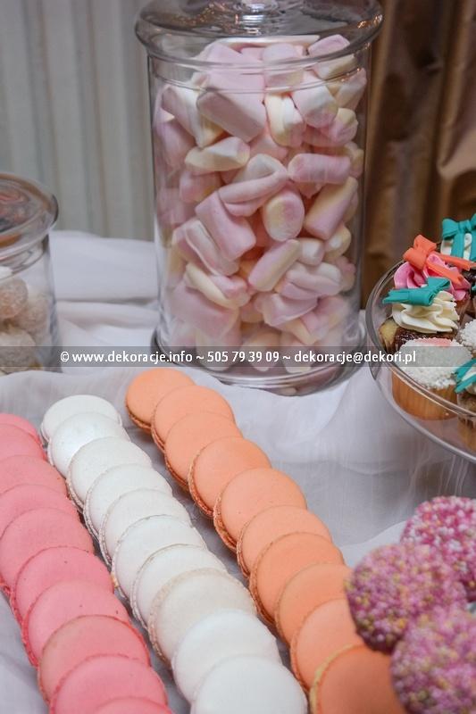 słodki bufet macarons gdynia