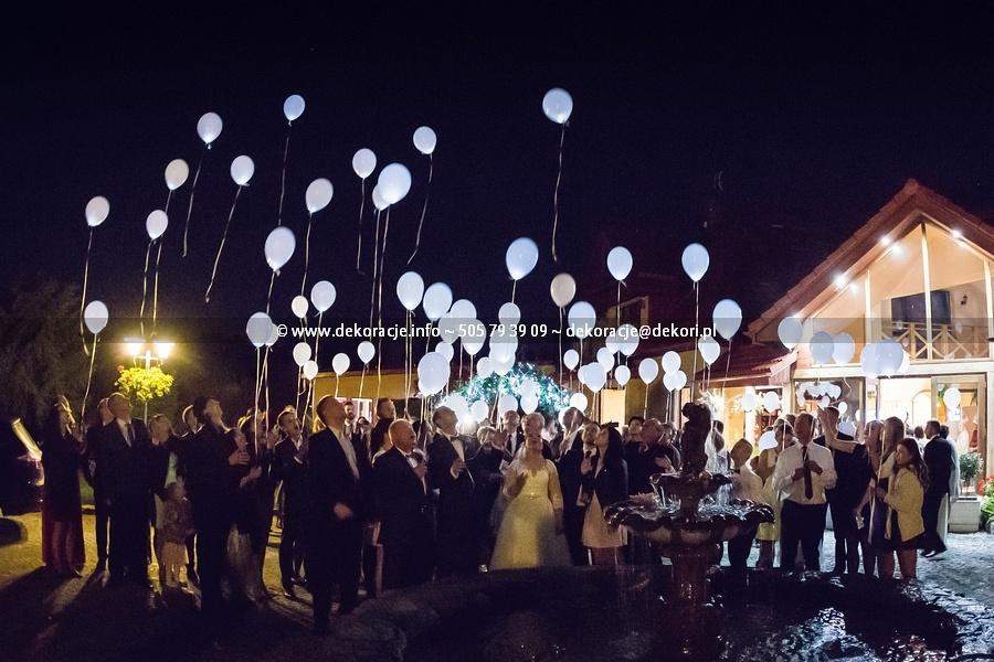 świecące balony z helem Trójmiasto