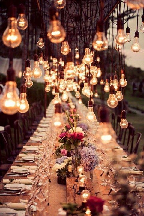 wesele w plenerze gdańsk lampki