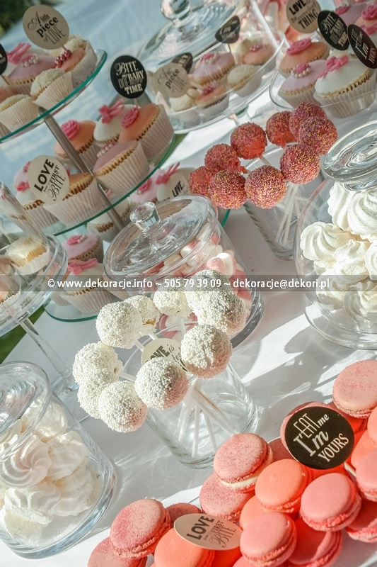 Słodki Bufet na ślub Gdynia