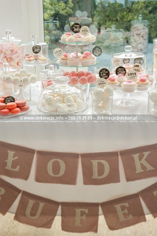 Słodki Bufet na wesele Gdynia