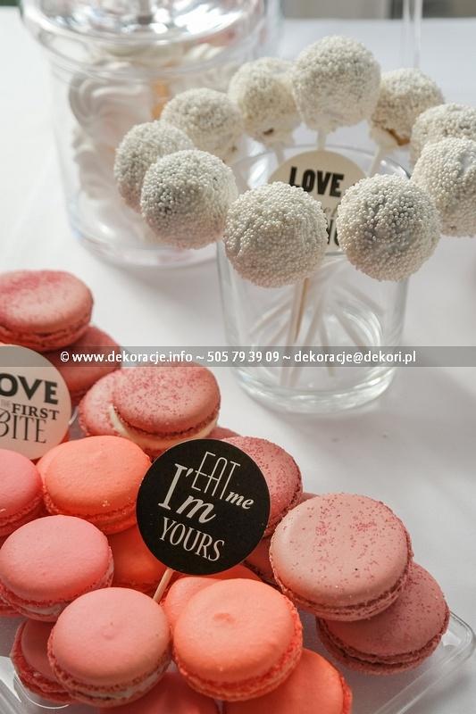 Słodki Bufet na weselu Gdynia