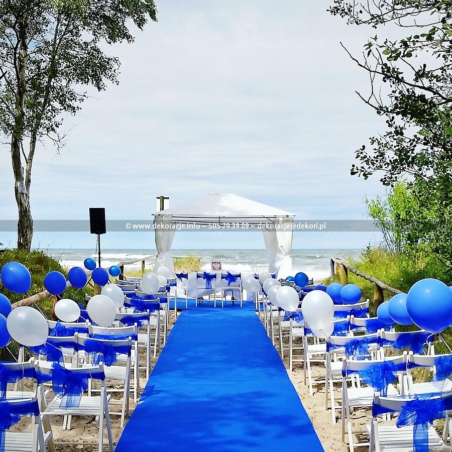 ślub W Plenerze Na Plaży Sopot Organizacja ślubu Plenerowego W