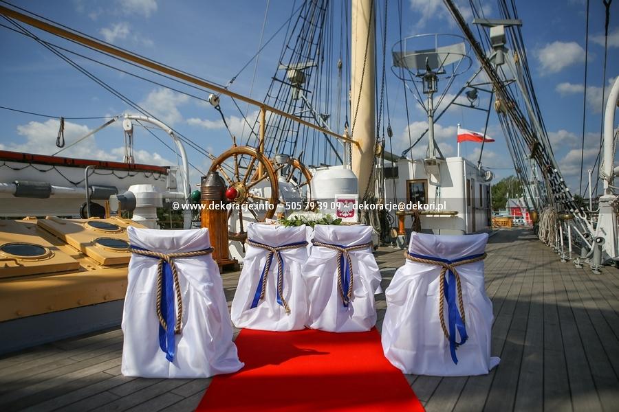 Ślub na Darze pomorza Gdynia