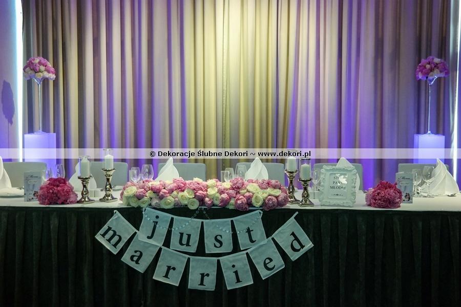 dekoracje sali sheraton sopot hotel