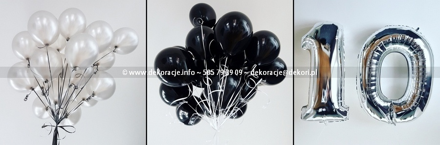 balony z helem Gdynia Trójmiasto