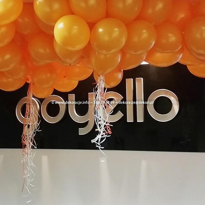 dekoracje z balonów dla firm Gdańsk