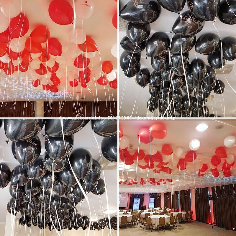 dekoracje z balonów dla firm Sopot