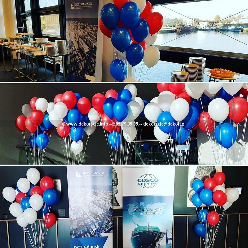 dekoracje z balonów Gdynia