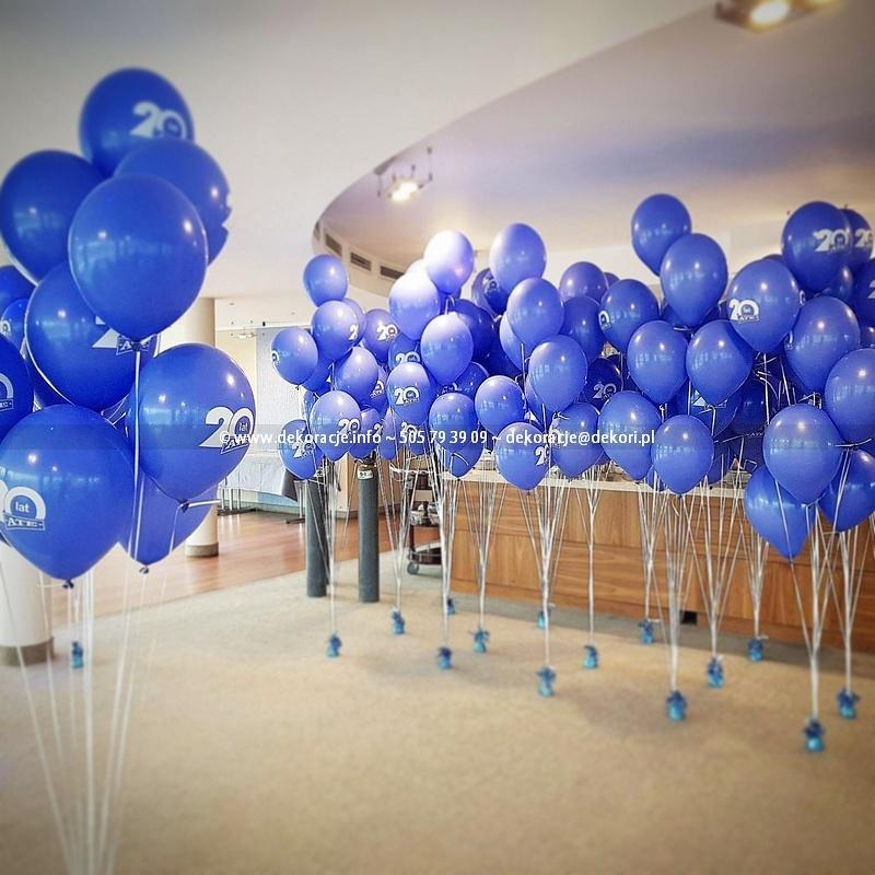 kępki z balonów z helem Trójmiasto