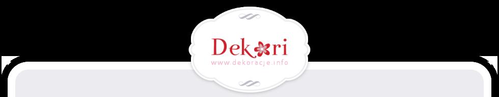 Dekoracje DEKORI logo